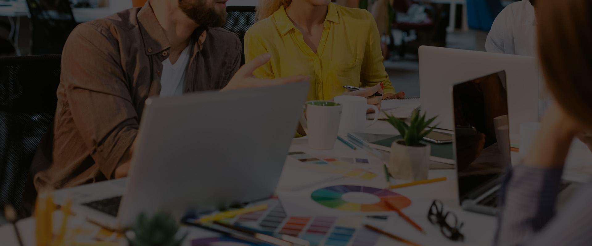 web agency brand image